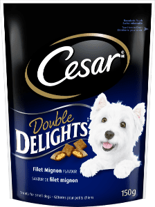 CESAR® DOUBLE DELIGHTSTM Treats: Filet Mignon Flavour 150g