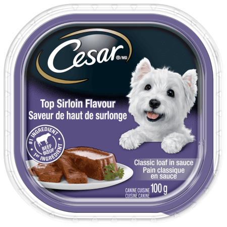 CESAR® Classic Loaf in Sauce: Top Sirloin Flavour 100g