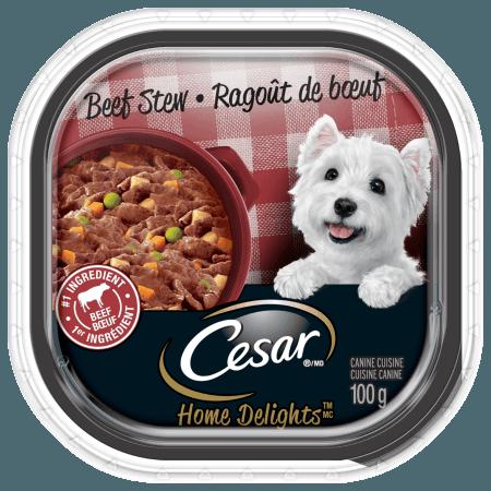 CESAR® HOME DELIGHTSTM Beef Stew 100g