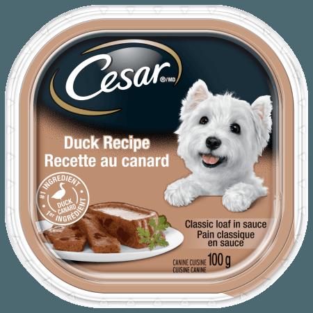 Nourriture CESARMD pain classique en sauce recette au canard  100g