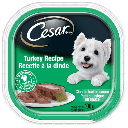 CESAR® Classic Loaf in Sauce: Turkey Recipe 100g