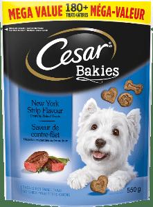 CESAR® BAKIESTM New York Trip Flavour 550g