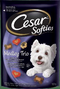 Gâteries CESARMD SOFTIESMC medley trio 150g