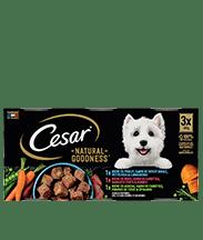 CESAR® Boites NATURAL GOODNESS™ multi-variétés