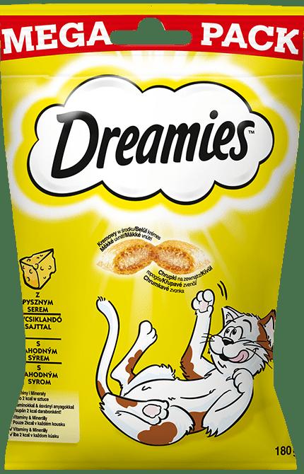 Przysmaki dla kota DREAMIES<sup>&trade;</sup> Mega Pack z Pysznym Serem