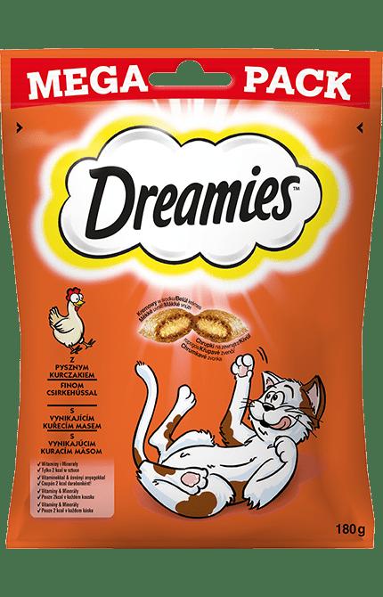 Przysmaki dla kota DREAMIES<sup>&trade;</sup> Mega Pack z Pysznym Kurczakiem