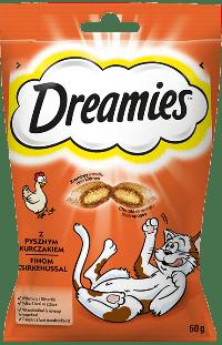 Przysmaki dla kota DREAMIES<sup>&trade;</sup>  z Pysznym Kurczakiem