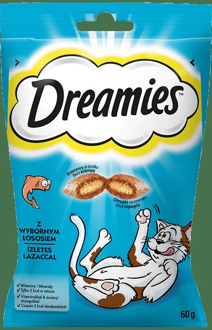 Przysmaki dla kota DREAMIES<sup>&trade;</sup> z Wybornym Łososiem