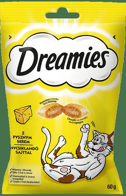 Przysmaki dla kota DREAMIES<sup>&trade;</sup> z Pysznym Serem