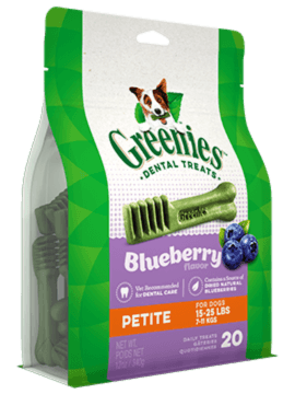 GREENIES™ Blueberry Flavor Petite Dog Dental Treats