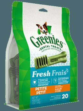 Gâteries dentaires pour chiens GREENIES<sup>MC</sup> Frais – petit format
