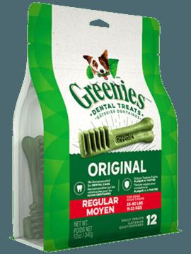 Gâteries dentaires pour chiens GREENIES<sup>MC</sup> Original – format moyen