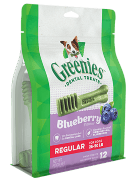 GREENIES™ Blueberry Flavor Regular Size Dog Dental Treats