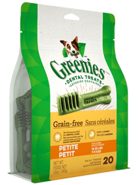 GREENIES™ Grain Free Petite Dog Dental Treats