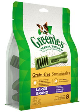 GREENIES™ Grain Free Large Dog Dental Treats