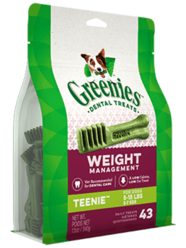GREENIES™ Weight Management TEENIE™ Dog Dental Treats