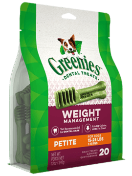 GREENIES™ Weight Management Petite Dog Dental Treats