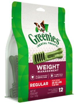 GREENIES™ Weight Management Regular Size Dog Dental Treats