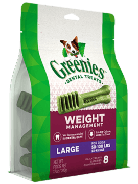 GREENIES™ Weight Management Large Dog Dental Treats