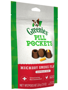 PILL POCKETS™ Treats for Dogs Hickory Smoke Flavor Capsule