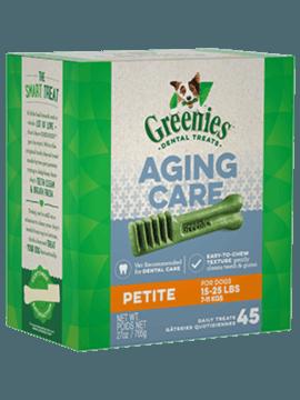 GREENIES™ Aging Care Petite Dog Dental Treats