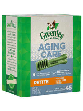 GREENIES™ Aging Care Petite Dog Dental Treats