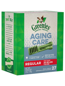 GREENIES™ Aging Care Regular Size Dog Dental Treats
