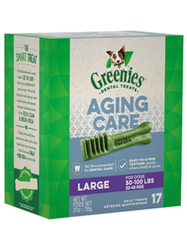 GREENIES™ Aging Care Large Size Dog Dental Treats