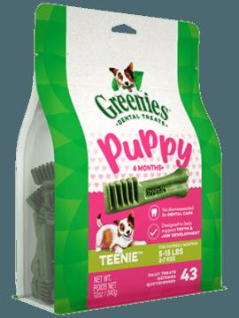 GREENIES™ Puppy 6+ Months TEENIE™ Dog Dental Treats