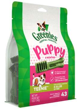 GREENIES™ Puppy 6+ Months TEENIE™ Dog Dental Treats