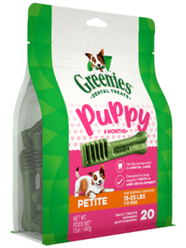GREENIES™ Puppy 6+ Months Petite Dog Dental Treats