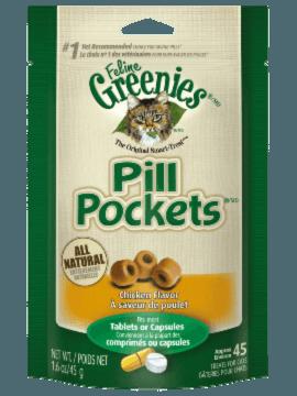 FELINE GREENIES™ PILL POCKETS™ Treats Chicken Flavor