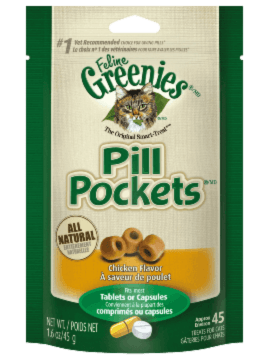 FELINE GREENIES™ PILL POCKETS™ Treats Chicken Flavor