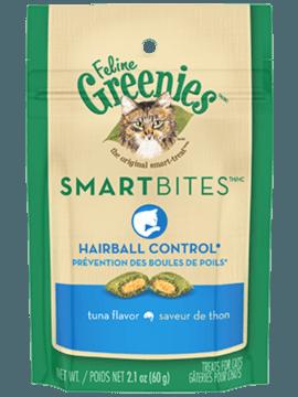 FELINE GREENIES™ SMARTBITES™ Hairball Control Treats Tuna Flavor