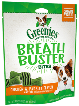 GREENIES™ BREATH BUSTER™ Bites Chicken & Parsley Flavor Treats for Dogs