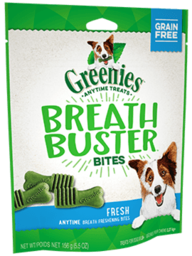 GREENIES™ BREATH BUSTER™ Bites Fresh Flavor Treats for Dogs