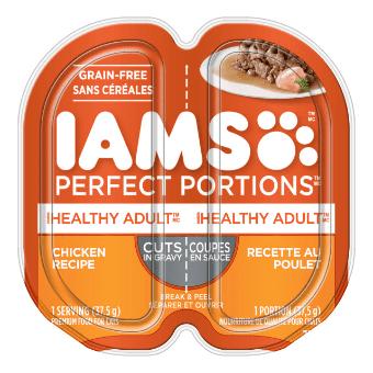 Nourriture humide pour chats adultes Healthy Adult Coupes en sauce recette au poulet