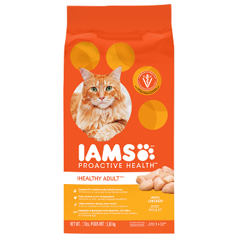 Healthy Adult Dry Cat Food With Chicken