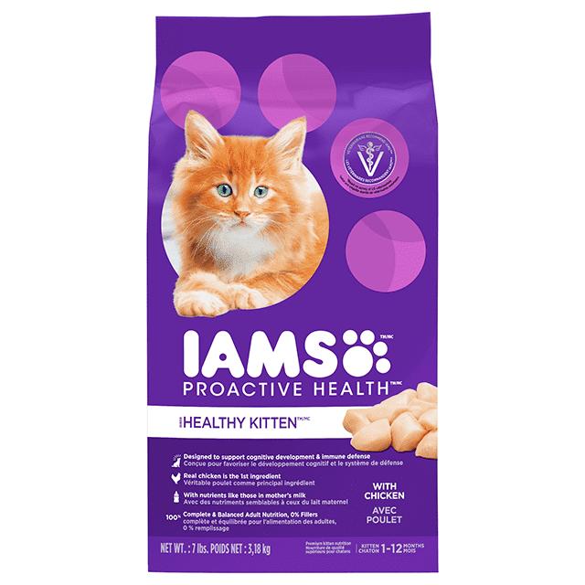 Nourriture sèche pour chats Healthy Kitten avec poulet