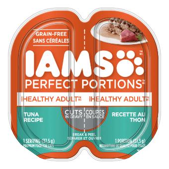 Nourriture humide pour chats adultes Healthy Adult Coupes en sauce recette au thon