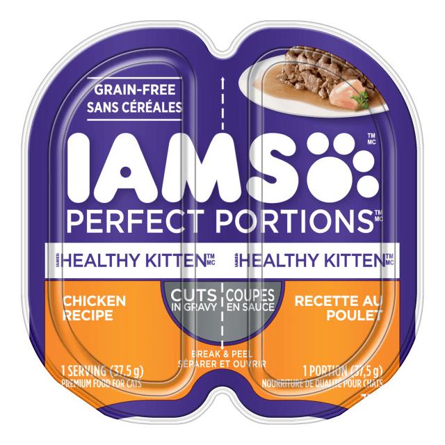 Healthy Kitten Cuts in Gravy - Chicken