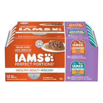 Cuts in Gravy Healthy Adult Chicken and Indoor Chicken 12CT Multipack