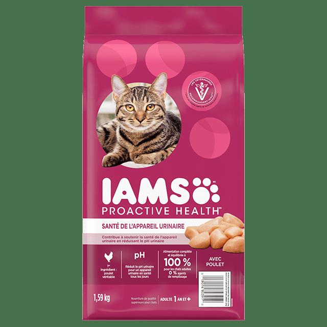 Nourriture sèche pour chats Santé de l'appareil urinaire avec poulet