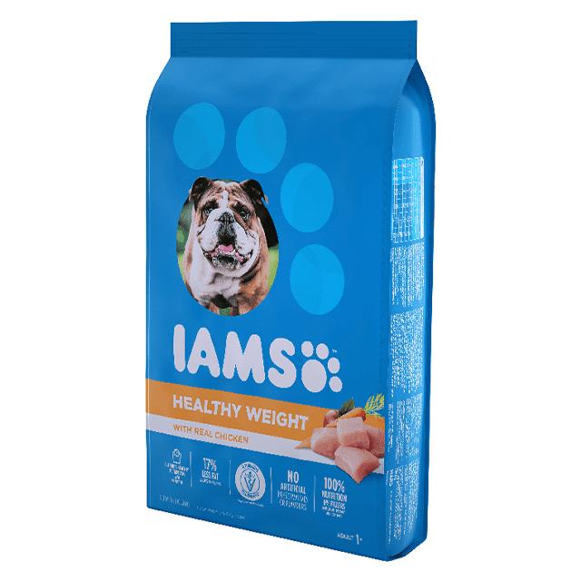 Nourriture sèche pour chiens adultes Healthy Weight avec poulet véritable