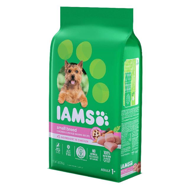 Nourriture sèche pour chiens adultes de petites et mini races Recette avec poulet et grains entiers