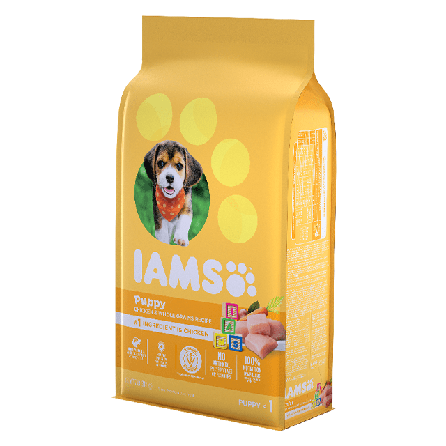 Smart Puppy Dry Dog Food Chicken and Whole Grains Recipe
