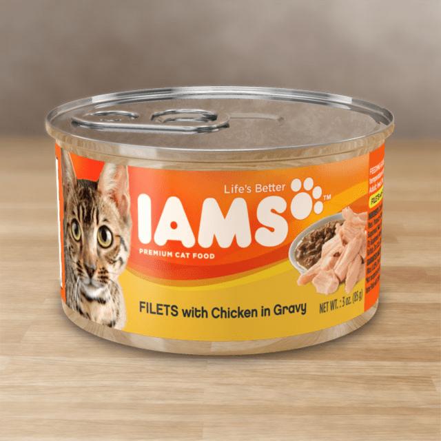 CHICKEN IN GRAVY CAT FOOD