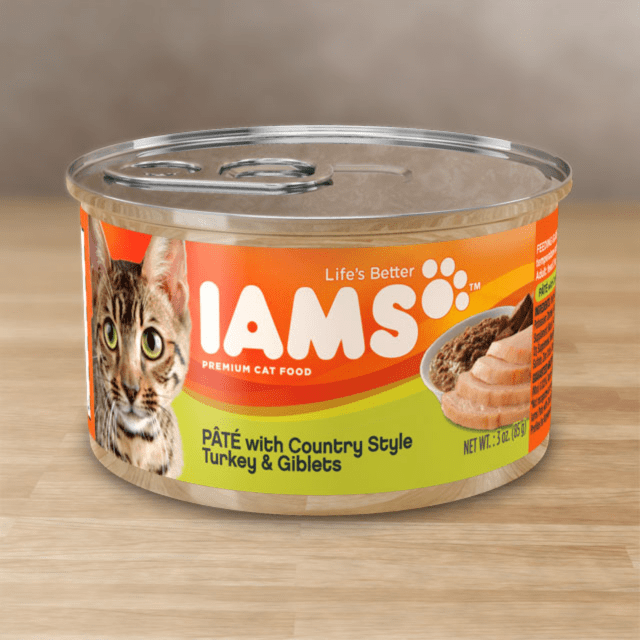 WITH COUNTRY STYLE TURKEY & GIBLETS CAT FOOD