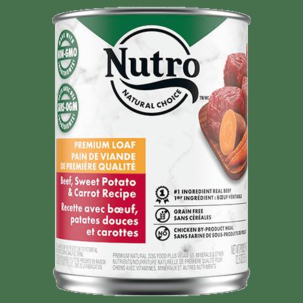 Adult Wet Dog Food Beef, Sweet Potato & Carrot Recipe