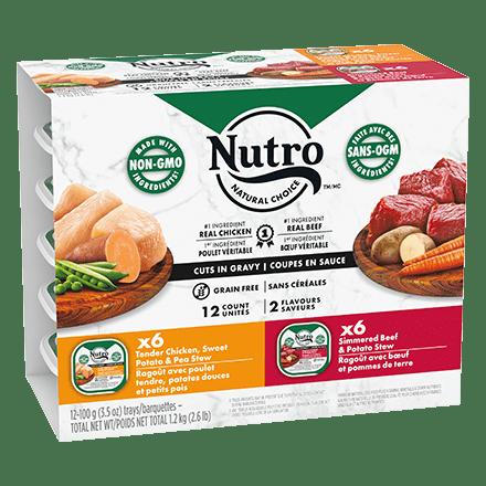 Multipack - 6 Tender Chicken, Sweet Potato & Pea Stew - 6 Simmered Beef & Potato Stew